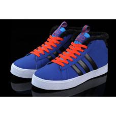 Кроссовки Adidas Neo Bbneo утепленные синий